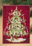 MH160302 Mill Hill Charmed Ornament Kit Victorian Tree (2010)