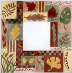 F-144 Indian Summer 3 1/2 x5 18 Mesh FRAME Meredith Collection