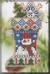 MHCS45 Mill Hill Charmed Ornament Kit Mr. Snowflake (2004)