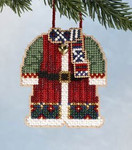 MH166305 Mill Hill Charmed Ornament Kit Santa's Coat (2006)