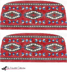 PB-481 Indian Rug 2 Sides 13 Mesh Purse PB-Adelaide The Meredith Collection