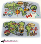 PB-475 International Travel 2 Sides 13 Mesh Purse PB-Adelaide The Meredith Collection