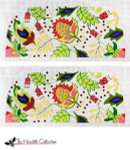 PB-432 Tropical Jewels 2 Sides 13 Mesh Purse PB-Adelaide The Meredith Collection