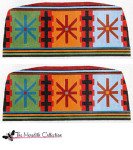 PB-358 Indian Blanket Geometric 2 Sides 13 Mesh Purse PB-Adelaide The Meredith Collection