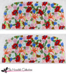 PB-48 Spring Bouquet 2 Sides 18 Mesh Purse PB-Adelaide The Meredith Collection
