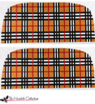PB-309 Preppy Plaid 2 Sides 13 Mesh Purse PB-Adelaide The Meredith Collection