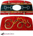 PB-486 Lead Line and Bits 2 Sides 18 Mesh Purse PB-Adelaide The Meredith Collection