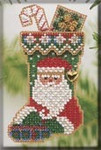 MHCS43 Mill Hill Charmed Ornament Kit St. Nick Stocking (2004)