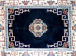 R-6 Chinese Floral 43 x 58 10 Mesh Rug The Meredith Collection