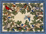 R-22 American Songbirds 30 x 40 13 Mesh Rug The Meredith Collection