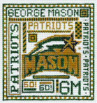 T-40gm George Mason University 4 1/2 x 5 18 Mesh The Meredith Collection