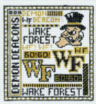 T-40wf Wake Forest 4 1/2 x 5 18 Mesh The Meredith Collection