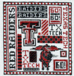 T-40tt Texas Tech 4 1/2 x 5 18 Mesh The Meredith Collection