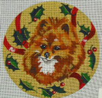 "XO-61g Pomeranian 6"" Round 18 Mesh The Meredith Collection"