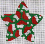 XO-101 Star with Santa Hats 18 Mesh The Meredith Collection