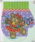 XO-144g Dan Dancing Bear with Lights 13 Mesh The Meredith Collection