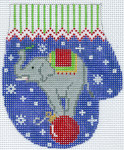 XO-144q Elephant on Ball 13 Mesh The Meredith Collection