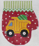 XO-147v Dump Truck Mitten 13 Mesh The Meredith Collection