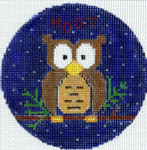 """XO-173b Owl 5"""" Round 13 Mesh The Meredith Collection"""