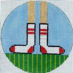 "XO-174k Tube Socks 5"" Round 13 Mesh The Meredith Collection"