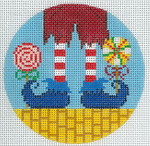 """XO-176e Lollipop Guild 5"""" Round 13 Mesh The Meredith Collection"""