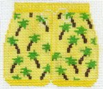 XO-178p Palm Tree Trunks 3 x 3 1/2 18 Mesh The Meredith Collection