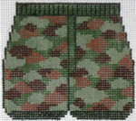 XO-180c Boxers-Camouflage 3 x 3 1/2 18  Mesh The Meredith Collection