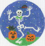 """XO-191g Mr. Bones & Co. 5"""" Round 13 Mesh The Meredith Collection"""