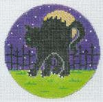 """XO-191h Scaredy-Cat 5"""" Round 13 Mesh The Meredith Collection"""