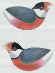 LL307C Labors Of Love Java Sparrow 18 Mesh 5.25x2.75 each (2)