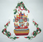 DC-1¹ Tree Skirt – Carousel	20x21 13 Mesh DECORATIONS