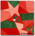 DC-30	Crazy Quilt – Star	12x12 18 Mesh DECORATIONS