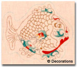 DC-79	Fish Ornament	7x6	  18  Mesh DECORATIONS