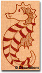 DC-95	Sea Horse Ornament	3x6   18  Mesh DECORATIONS