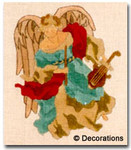 DC-130	Angel Ornament – Violin	5½x7½	18	 Mesh DECORATIONS