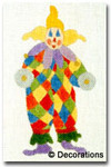 DC-154	Clown Ornament 4x7	 18 Mesh DECORATIONS