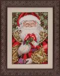 12-1673 MD120 Mirabilia Designs Santa