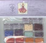 10-1601 MD108E Mirabilia Designs January's Garnet Fairy Embellishment Pack