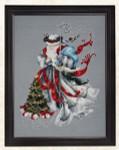 09-1408 MD100 Mirabilia Designs Winter White Santa