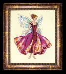 10-1601 MD108 Mirabilia Designs January's Garnet Fairy