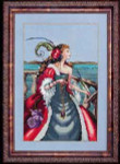11-1383 MD113 Mirabilia Designs Red Lady Pirate The