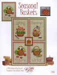 03-2636 Seasonal Baskets (w/chm) by Sue Hillis Designs