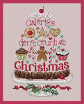 10-2270 Christmas Calories 84w x 124h Sue Hillis Designs