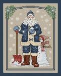 10-2269 Snowflake Santa 96w x 122h Sue Hillis Designs YT