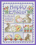 11-1346 Happy Easter 123 x 95 Sue Hillis Designs