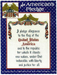 03-1489 An American's Pledge by Sue Hillis Designs