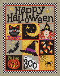 08-2218 Happy Halloween by Sue Hillis Designs