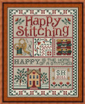 11-1674 Happy Stitching 97 x 124 Sue Hillis Designs