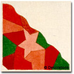 DC-146	Crazy Quilt Orn – Star	7½x7½	18 Mesh DECORATIONS