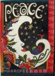 LB-21 Peace  With stitch guide 10 x 14 18 Mesh Danji Designs LAUREL BURCH